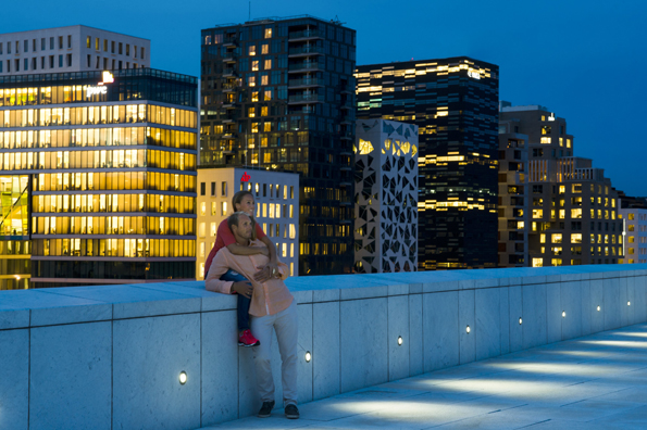Mit dem Barcode Projekt hat die Zukunft Oslos bereits begonnen. (Foto Visit Norway)