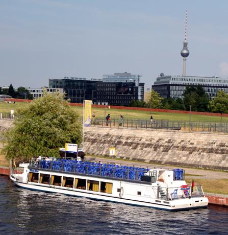 Berlin hat mehr als 180 Kilometer schiffbare Wasserwege. (Foto Karsten-Thilo Raab)