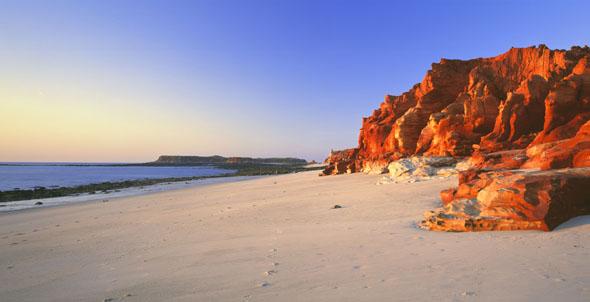 Verträumt und wenig überlaufen: Das Cape Leveque auf der Dampier Peninsular. (Foto Tourism Western Australia)