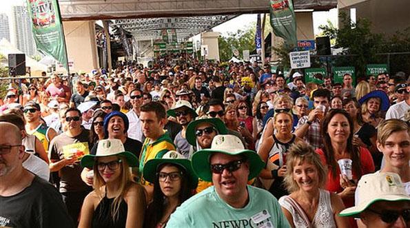 Tausende Besucher strömen jährlich zu dem ungewöhnlichen Wettkampf.
