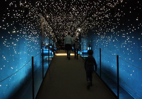 Der Strahlkraft der Sterne  kann sich beim Gang durch die Klimazonen der Erde niemand entziehen. (Foto Ulrike Katrin Peters)