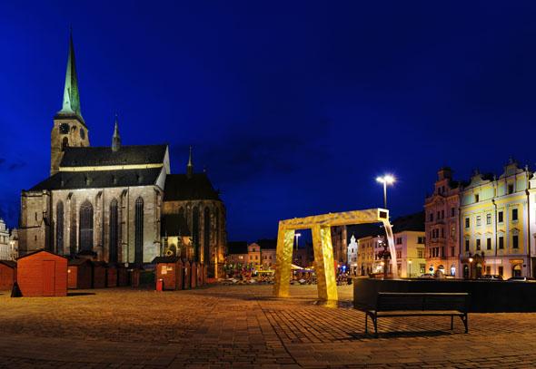Das tschechische Pilsen wartet als Europas Kulturhauptstadt 2015 mit 600 Veranstaltungen auf. (Foto  CzechTourism)