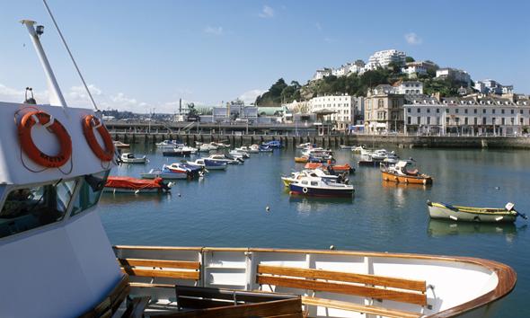 Torquay gehört zu den charmantesten Flecken an der Englischen Riviera.