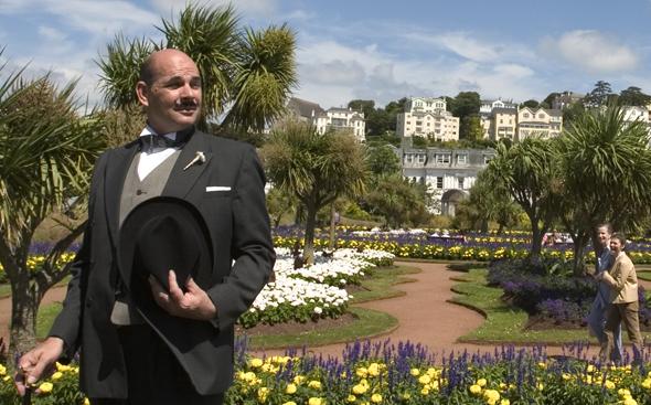 Detektiv Hercule Poirot ist eine der berühmtesten Figuren aus der Feder von Agatha Christie.