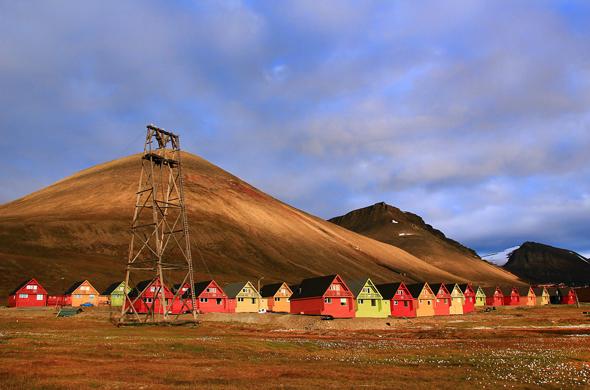 In Longyearbyen im norwegischen Spitzbergen findet sich nun das nördlichste Kunstmuseum der Welt. (Foto Marcela Cardenas)