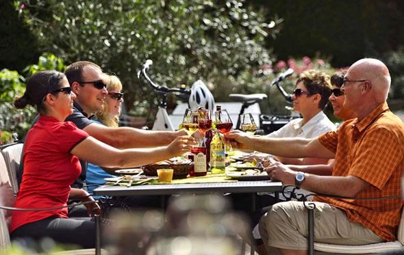 Im Wein- und Kulturland Kraichgau-Stromberg finden Radbegeisterte ein ausgeschildertes Radwegenetz mit über 2.000 Kilometern. (Foto: Jan Bürgermeister)