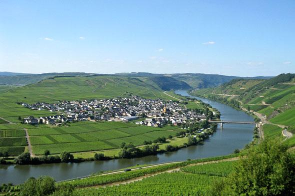 Entlang derRömischen Weinstraße locken Wanderwege mit dem Blick auf faszinierende Flusspanoramen. (Foto: djd)