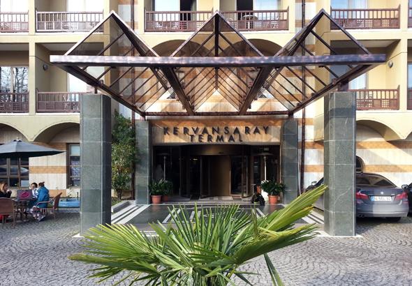 Das Kervansaray Thermal Hotel in Bursa ist bekannt für sein türkisches Badehaus. (Foto Karsten-Thilo Raab)