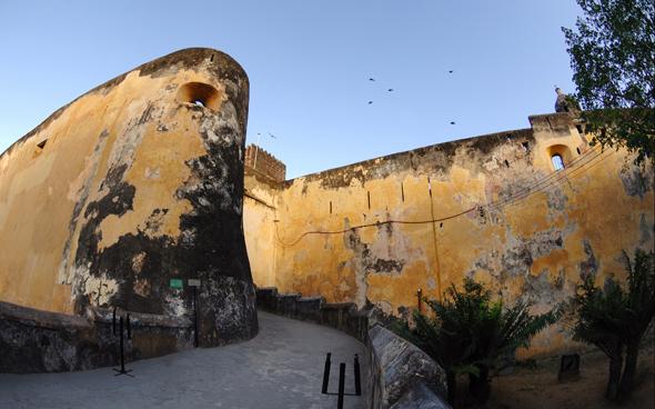 Bedeutendes Zeugnis der kenianischen Geschichte: das Fort Jesus in Mombasa. (Foto Kenya Tourism Board)