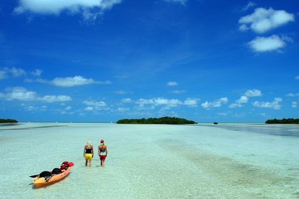 Traumhafte Strände und Bademöglichkeiten finden sich auf den Florida Keys zu Hauf. (Foto Rob O'Neal)