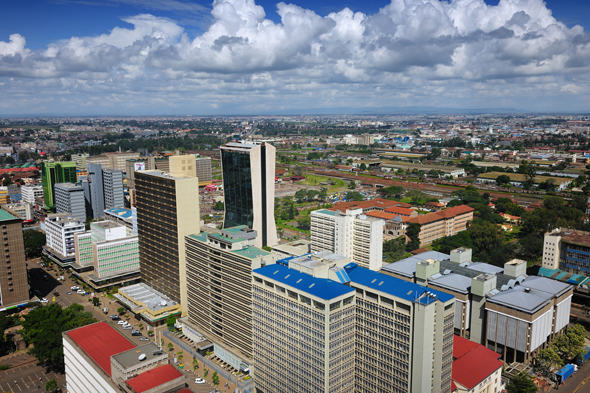 Nairobi ist die pulsierende Metropole des Landes. (Foto Kenya Tourism Board)