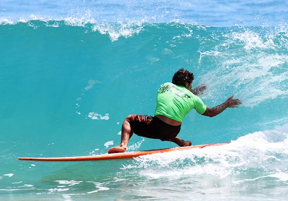 Im australischen Noosa suchen Surfer aus aller Welt acht Tage lang die perfekte Welle.