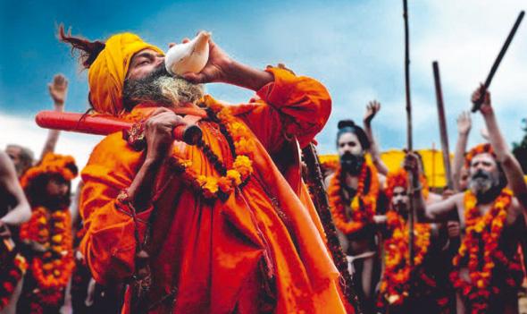 Die Simhastha Kumbh ist ein einzigartiges spirituelles Fest in Indien. 2016 steigt die größte Versammlung von Gläubigen auf dieser Welt in Ujjain. (Foto Madhya Pradesh Tourism)