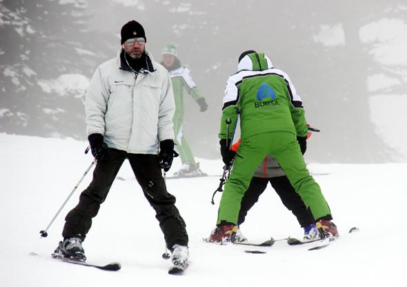 Perfekte Wintersportbedingungen finden Anfänger und Fortgeschrittene bis Ende März im türkischen Uludağ. (Foto Karsten-Thilo Raab)
