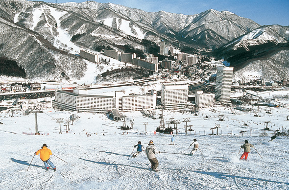 Einige der besten Wintersportgebiete Jpans finden sich in