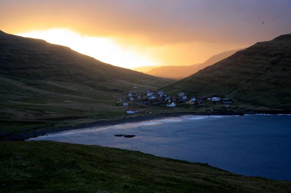 Die Faröer-Inseln sind einer von weltweit zwei Orten, wo am 20, März die totale Sonnenfinsternis zu sehen ist.