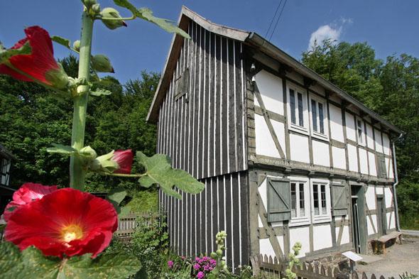 Viele historische Gebäude werden im LWL-Freilichtmuseum von Detmold liebevoll gepflegt. (Foto: djd)