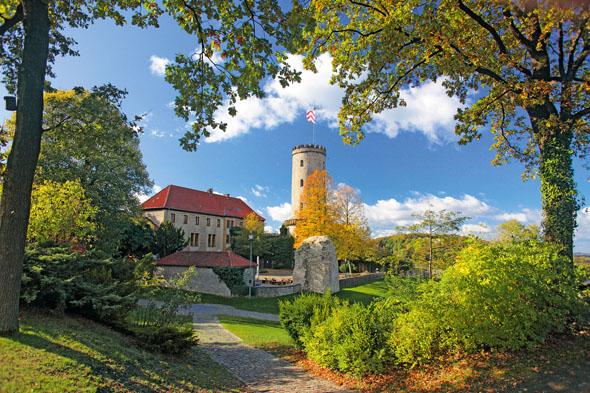 Die Sparrenburg ist Bielefelds historisches Wahrzeichen. (Foto: Wolfgang Schomberg)