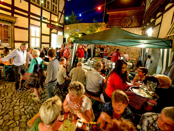 Osterode am Harz: modernes Lebensgefühl in historischer Bausubstanz. (Foto: djd)