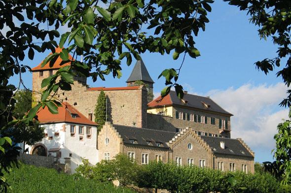 Blick auf das Schloss Eberstein in Gernsbach. (Foto: djd)