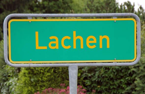 Nicht immer ist Urlaubern wie hier in Lachen, einem Ortsteil von Bodnegg in baden-Württemberg, zum Lachen. (Foto Karsten-Thilo Raab)