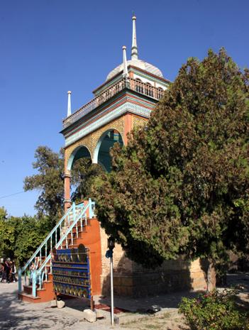 Der Sommerpalast des letzten Emirs von Bukara. (Foto Karsten-Thilo Raab)