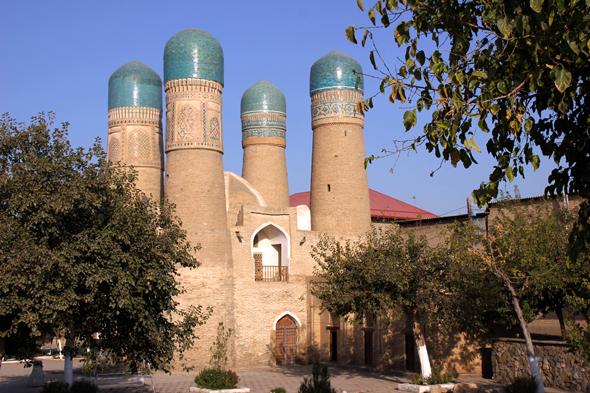Gut versteckt inmitten eines Wohngebietes liegt due Chor Minor Moschee. (Foto Karsten-Thilo Raab)