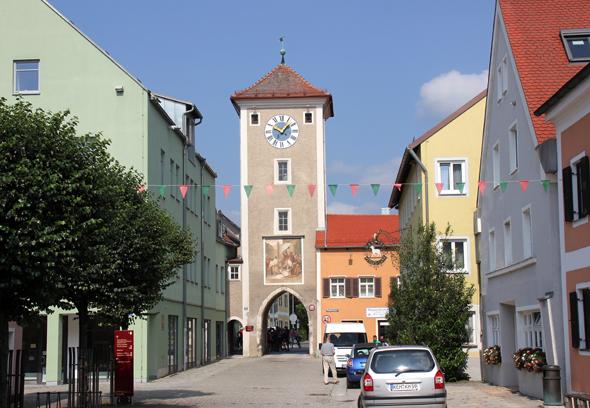 In Kelheim endet der Altmühltal-Radweg. (Foto Karsten-Thilo Raab)