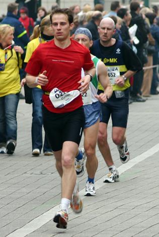 Der Marathon in Košice führt nach Seňa und zurück. (Foto Karsten-Thilo Raab)