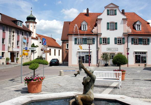 Treuchtlingen ist eine der Stationen entlang des Altmühltal-Radweges. (Foto Karsten-Thilo Raab)