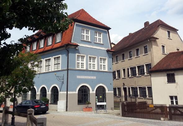 Anlaufstelle für Kulturbeflissene: das Volkskundemuseum in Treuchtlingen. (Foto Karsten-Thilo Raab)