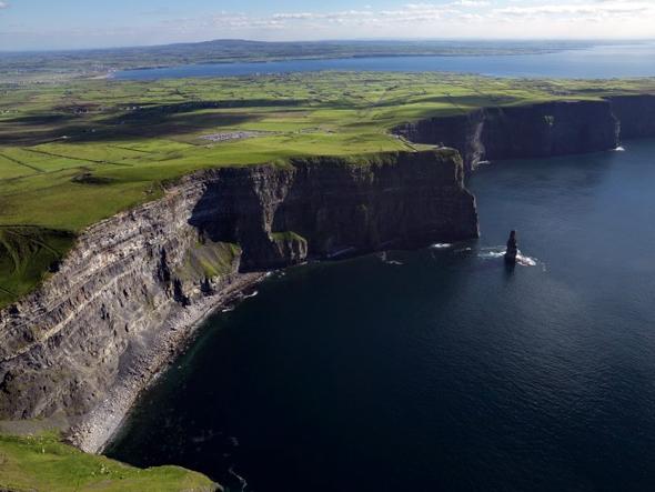Irlands berühmteste Klippen: Die Cliffs of Moher. (Fotos Tourism Ireland)