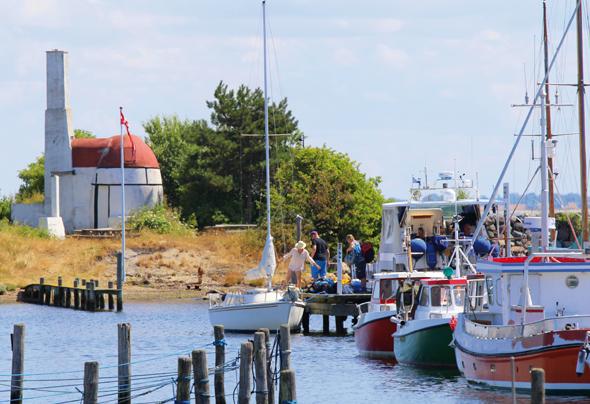 Ærø besticht durch urige kleine Städtchen und gemütliche Häfen.  (Foto Bjørg Kiær)