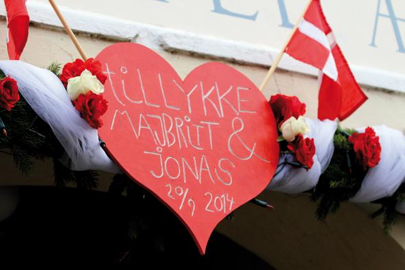 Manch einer hat nicht nur auf Ærø sein Herz verloren, sondern sich auch in die Insel verliebt. (Foto Bjørg Kiær)