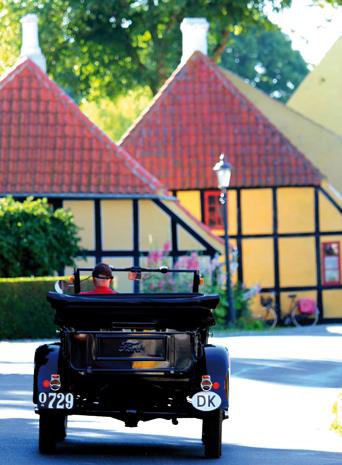 Bisweilen fühlt man sich auf  Ærø wie in einem gigantischen Freilichtmuseum. (Foto Bjørg Kiær)