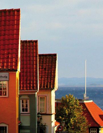 Wohnen auf Probe ist eines der spannenden Insel-Projekte. (Foto Bjørg Kiær)