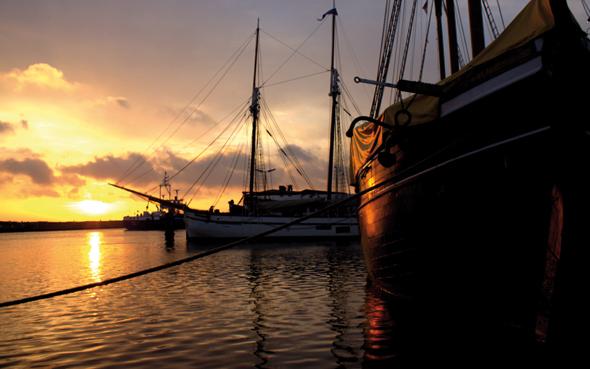 Unbekannt und fraglos einer der schönsten Flecken in der dänischen Südsee: die Insel (Foto Bjørg Kiær)