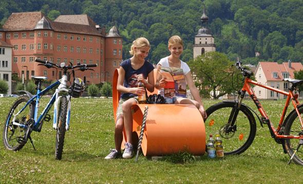 Neben einer Radlerpause in der freien Natur sollte man auch die vielen schönen Einkehrmöglichkeiten in den Städten und Dörfern nutzen. Schließlich gilt Hohenlohe als Feinkostladen Baden-Württembergs. (Foto: djd)