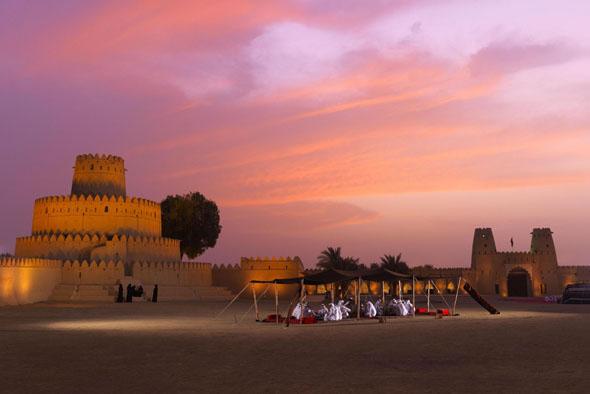 Ein Trauim in der Wüste: das Al Jahili Fort im Weltkulturerbe Al Ain.