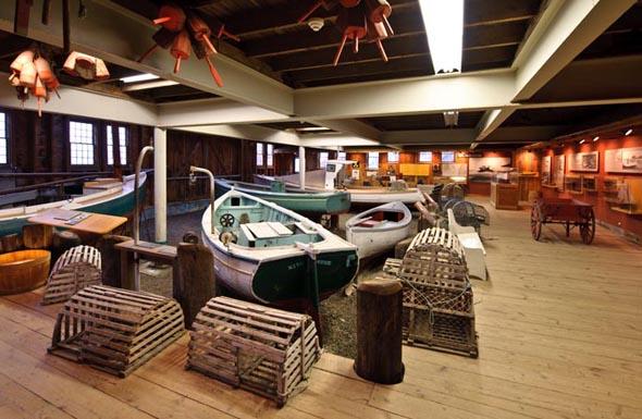 Widmet sich ganz dem Hummer: Die neue Ausstellung 'Lobstering in Maine' im Maine Maritime Museum (Foto Maine Maritime Museum)