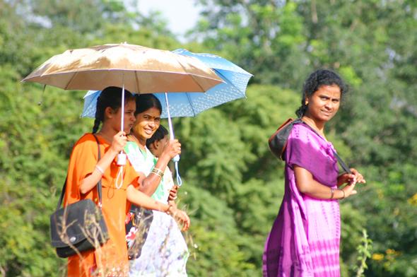 Für die Einreise nach Indien müssen Touristen nun online ein Visum beantragen. (Foto Karsten-Thilo Raab)