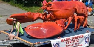Klingt abgebrüht: Große Hummer-Mania in Maine