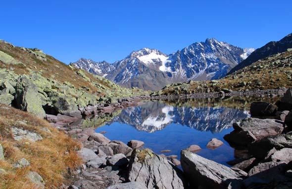 Eines der Naturjuwele Tirols: Der Naturpark Kaunergrat. (Foto TVB Pitztal)
