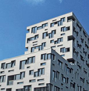 Südpark Überbauung am Bahnhof SBB: Zeitgenössische Architektur ist für Basel zu einem Wahrzeichen geworden. (Foto Urs Witschi)