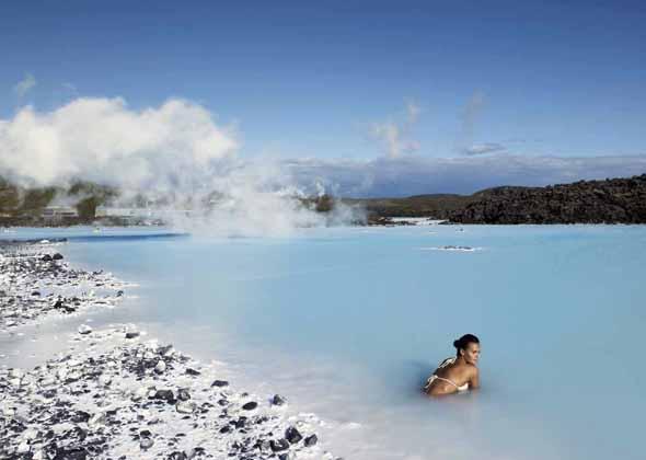 Heilsamer Badetraum: die Blaue Lagune. (Foto Iceland Tourist Board)