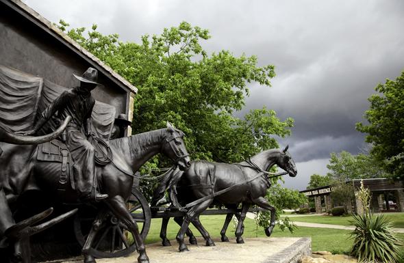 Das Chisholm Trail Heritage Center in Duncan bereitet die Geschichte des amerikanischen Viehtriebs auf. (Foto CTHC)