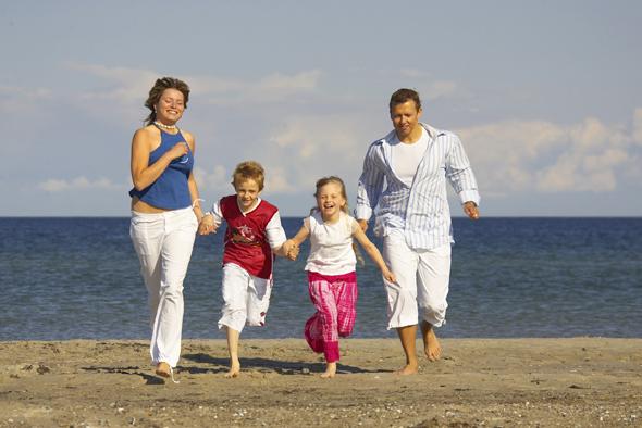 Als ausgewiesenes Schönwetterloch ist Fehmarn ideal für Familienurlaub. (Foto Stefan Sobotta)