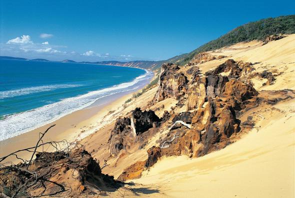 Eine faszinierende Laune der Natur: der Great Sandy Nationalpark.
