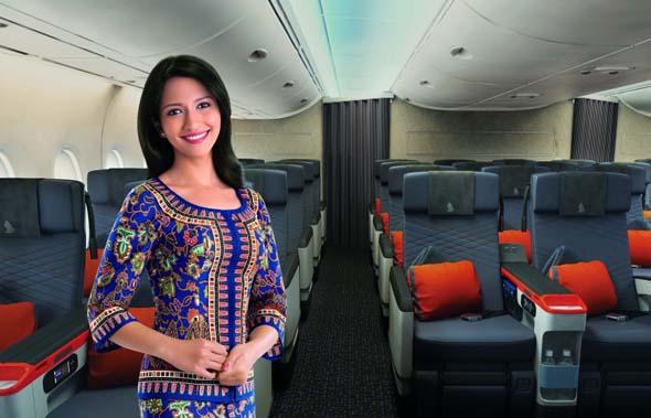 Die neue Premium Economy Class von Singapore Airlines bietet neben mehr Platz auch mehr Komfort und weitere Serviceleistungen.