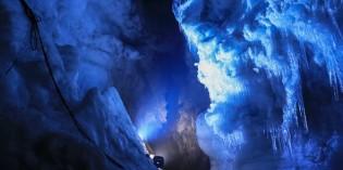 Spaziergang durch das ewige Eis des Langjökull